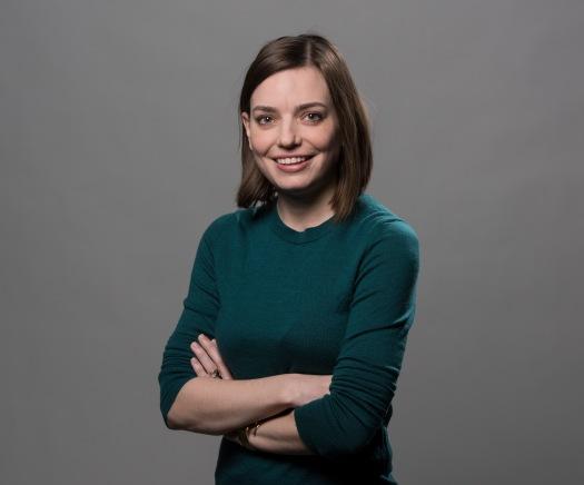 WASHINGTON, DC - FEBRUARY 1: Washington Post staffer Tessa Muggeridge, on February, 01, 2018 in Washington, DC. (Photo by Bill O'Leary/The Washington Post)